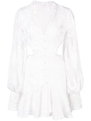 Alexis Sarabeth Mini Dress White