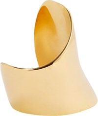 Maiyet Large Asymmetrical Cuff Colorless