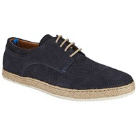 John Lewis Kin By Espadrille Lace Up Shoes Navy