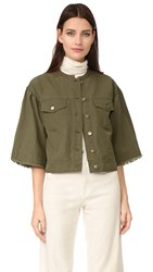 Ulla Johnson Kloe Jacket Olive