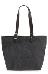 Caputo Co Caputo And Co. Washed Canvas Buckle Tote Black