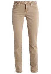 Mavi Jeans Uptown Sophie Slim Fit Timber Wolf Washed Beige