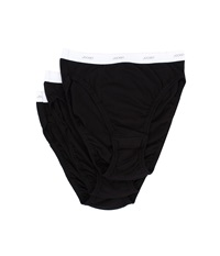 Jockey Classics French Cut 3 Pack Black Black Black Women's Underwear