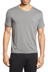 Daniel Buchler Short Sleeve T Shirt Gray