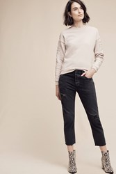 Anthropologie Citizens Of Humanity Corey Ultra High Rise Ankle Jeans Black
