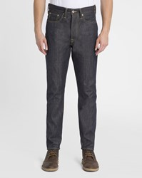 Edwin Faded Blue Ed 45 Raw Tapered Loose Jeans