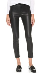 Blank The Principle Mid Rise Vegan Leather Skinny Pants Daddy Soda