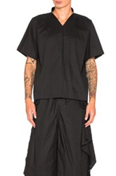Craig Green V Neck Pajama Top In Black