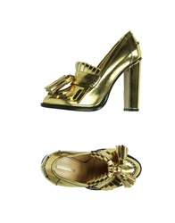 Dsquared2 Moccasins Gold