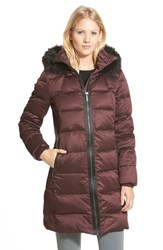 Women's Michael Michael Kors Down And Feather Fill Stadium Coat