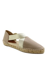 Andre Assous Nidia Espadrille Flats Taupe