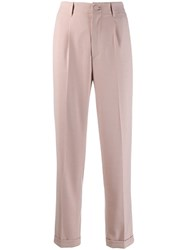 Blumarine High Waisted Trousers Pink