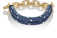 Miansai Women's Karoo Rope And Oval Link Chain Bracelet Navy