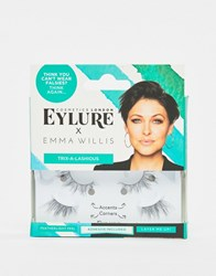 Eylure X Emma Willis Trix A Lashious False Eyelashes Black