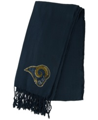 Little Earth Women's St. Louis Rams Pashi Fan Scarf Navy
