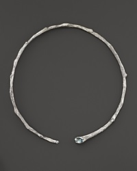 Michael Aram Sterling Silver Twig Collar Necklace