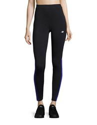 New Balance Fitted Athletic Pants Spectral Black