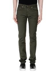 Ag Adriano Goldschmied Casual Pants Military Green