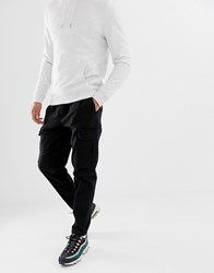 Fairplay Cargo Joggers In Black