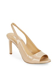 Bcbgeneration Ceecee Patent Leather Slingback Pumps Beige