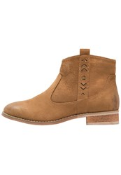 Evenandodd Ankle Boots Whisky Cognac
