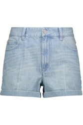 Etoile Isabel Marant Peter Denim Shorts Light Blue