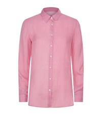 Max Mara Weekend Geometric Print Shirt Female Pink