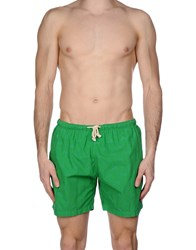 Mosaique Swim Trunks Green
