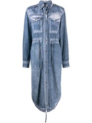 Mr And Mrs Italy Cured Shirt Dress Blue