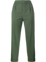 Vince Tapered Trousers Green