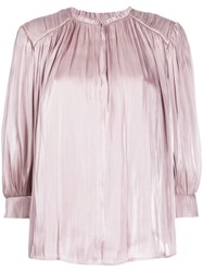 Rebecca Minkoff Pleated Detail Blouse 60