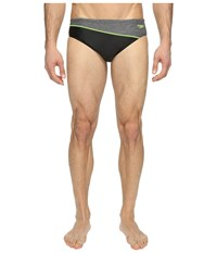 Speedo Relaunch Brief Sport Neon Men's Swimwear Blue