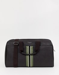 Ted Baker Yours Webbing Holdall Brown