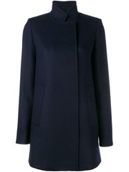 Proenza Schouler Double Breasted Pea Coat Blue