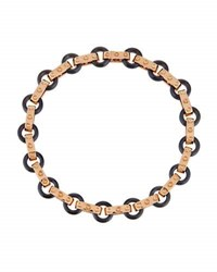 Roberto Coin Pois Moi 18K Rose Gold And Titanium O Ring Bracelet