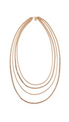 Cloverpost Strict Necklace Yellow Gold