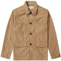 Universal Works Labour Jacket Brown
