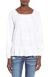 Junior Women's Bp. Cotton Peasant Top
