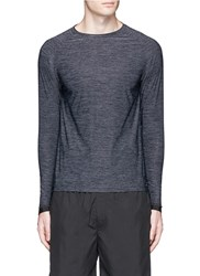 Particle Fever Icy Cool Long Sleeve Performance T Shirt Grey