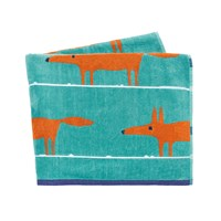 Scion Mr Fox Beach Towel Turquoise