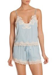 In Bloom Only With You Camisole And Shorts Set Blue
