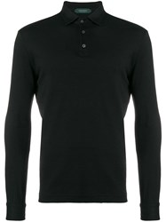 Zanone Polo Shirt Jumper Black