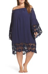 Muche Et Muchette 'S Jolie Lace Accent Cover Up Dress Blush