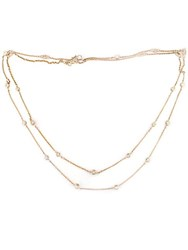 Effy Trio 14 Kt. Rose Gold Diamond Station Necklace