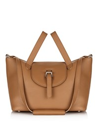Meli Melo Thela Medium Tote Light Tan Gold