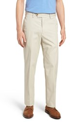 Bills Khakis Big And Tall M2 Classic Fit Flat Front Travel Twill Pants Cement