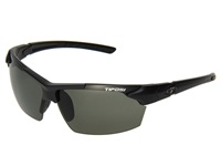Tifosi Optics Jet Polarized Matte Black Smoke Polarized Lens Athletic Performance Sport Sunglasses
