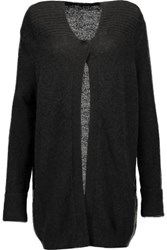 Karl Lagerfeld Knitted Cardigan Black