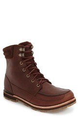 The North Face Men's 'Bridgeton' Moc Toe Boot Tempest Brown Arabian Spice