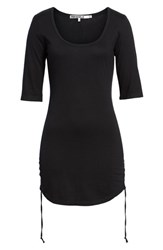 Pam And Gela 'S Ruched Body Con Dress Black